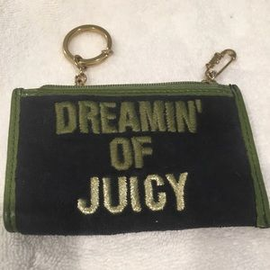 Juicy Couture Velour Coin Purse/ID Holder